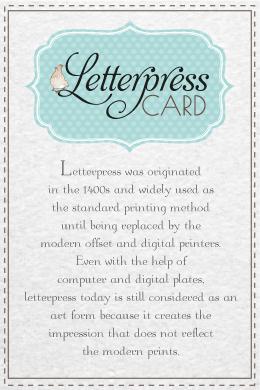 banner letterpress