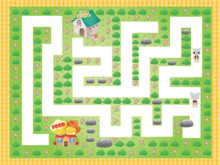 scrren maze